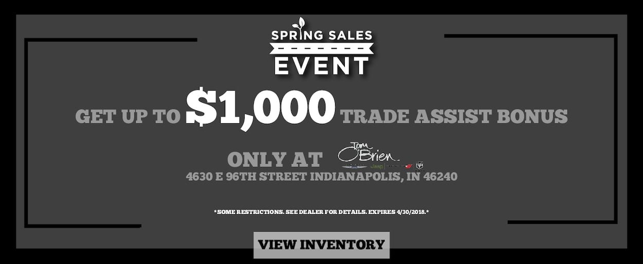 Tom O Brien Jeep >> Chrysler, Dodge, Jeep and RAM Dealer in Indianapolis