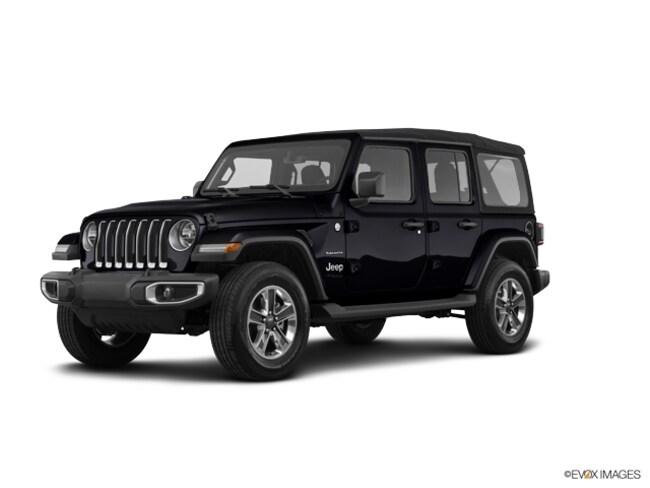 New 2018 Jeep Wrangler UNLIMITED SAHARA 4X4 Sport Utility Indianapolis