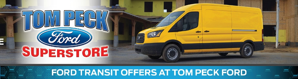 2019 Ford Transit Offers Banner