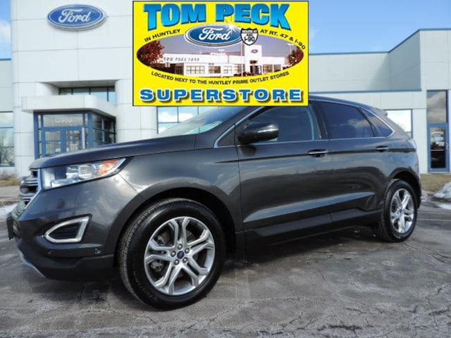Certified pre-owned 2015 Ford Edge Titanium SUV in Huntley