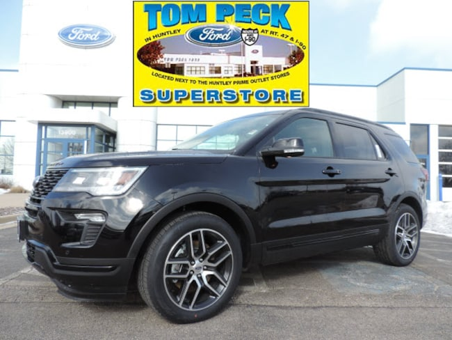 New 2019 Ford Explorer Sport SUV for sale/lease Huntley, IL