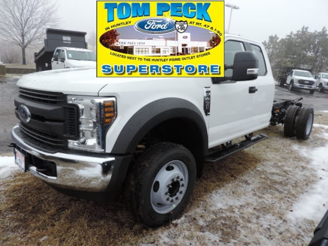 New 2019 Ford Chassis Cab F-450 XL Truck Super Cab for sale/lease Huntley, IL