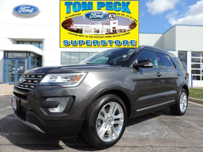Used 2017 Ford Explorer XLT SUV 1FM5K7D82HGE27820 for sale in Huntley, IL