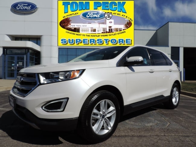 Certified pre-owned 2015 Ford Edge SEL SUV 2FMTK4J84FBC11322 in Huntley