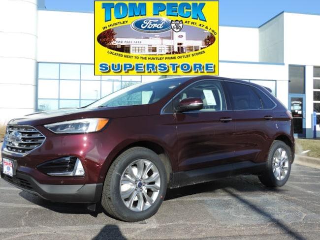 New 2019 Ford Edge Titanium SUV 2FMPK3K97KBB35091 for sale/lease Huntley, IL