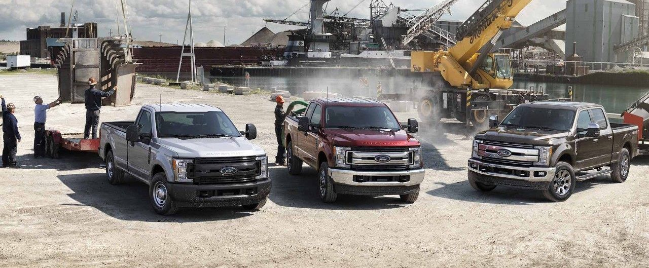 2018 Ford Super Duty F-350 Trim Options near Woodstock & Dundee, IL