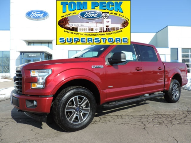 Certified pre-owned 2017 Ford F-150 XLT Truck SuperCrew Cab in Huntley