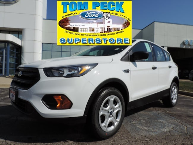 New 2019 Ford Escape S SUV 1FMCU0F79KUB75943 for sale/lease Huntley, IL