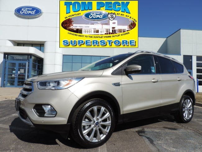 Certified pre-owned 2018 Ford Escape Titanium SUV 1FMCU9J95JUC49502 in Huntley