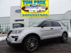 New 2019 Ford Explorer Sport SUV for sale in Huntley, IL