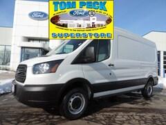 New 2019 Ford Transit Commercial Cargo Van Van Medium Roof Cargo Van for sale in Huntley, IL