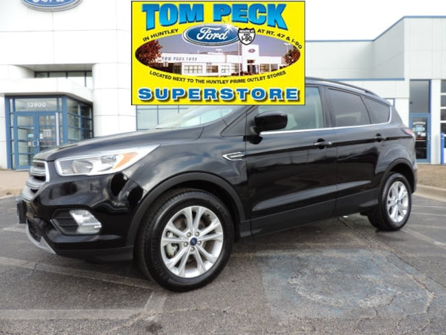 Used 2018 Ford Escape SE SUV 1FMCU0GD0JUC49284 for sale in Huntley, IL