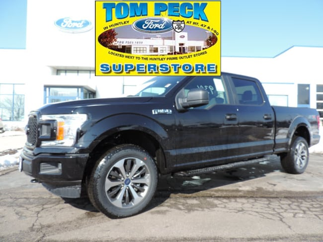 New 2019 Ford F-150 STX Truck 1FTFW1E42KKC58537 for sale/lease Huntley, IL