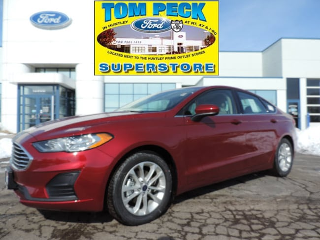 New 2019 Ford Fusion SE Sedan for sale/lease Huntley, IL