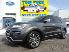 Pre-Owned 2018 Ford Explorer Platinum SUV 1FM5K8HT9JGA12469 for sale in Huntley, IL