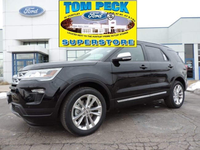 New 2019 Ford Explorer Xlt For Sale Lease In Huntley Il