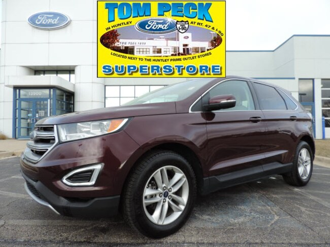 Used 2018 Ford Edge SEL SUV for sale in Huntley, IL