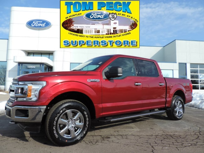 Certified pre-owned 2018 Ford F-150 XLT Truck SuperCrew Cab in Huntley