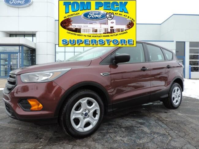 Used 2018 Ford Escape S SUV for sale in Huntley, IL