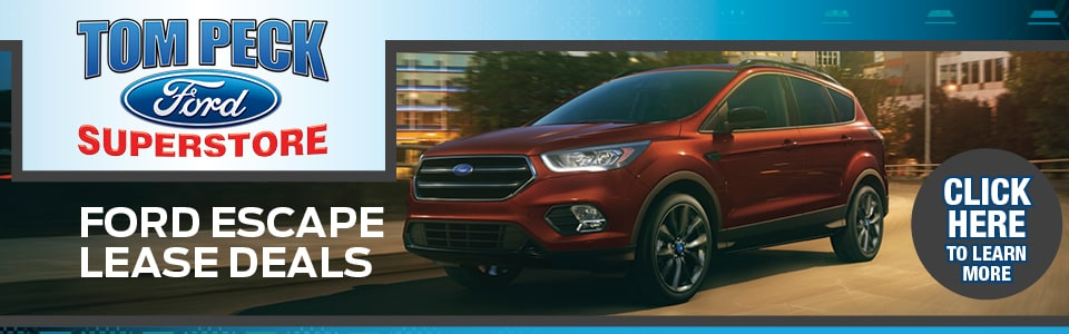 2019 Ford Escape Lease Deals