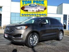 New 2019 Ford Edge Titanium SUV for sale in Huntley, IL