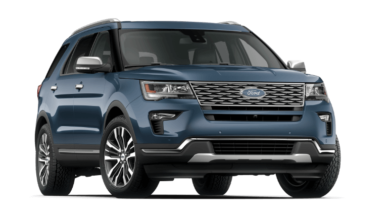 2019 Ford Explorer Platinum in Blue