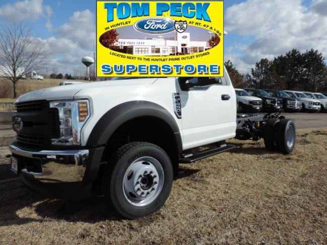 New 2019 Ford Chassis Cab F-450 XL Truck Regular Cab for sale/lease Huntley, IL