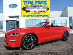 Certified Pre-Owned 2018 Ford Mustang Ecoboost Premium Convertible 1FATP8UH3J5111532 for sale in Huntley, IL