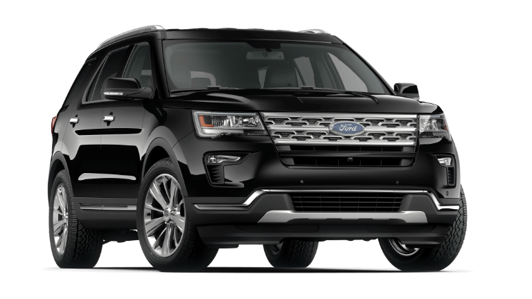 2019 Ford Explorer Limited in Agate Black