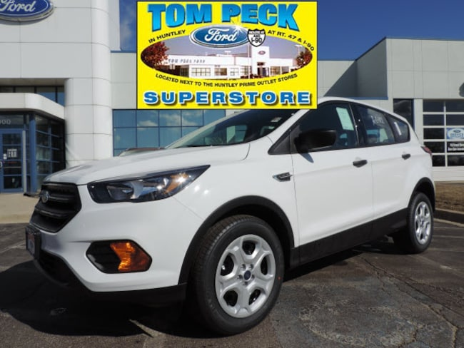New 2019 Ford Escape S SUV 1FMCU0F7XKUB50775 for sale/lease Huntley, IL