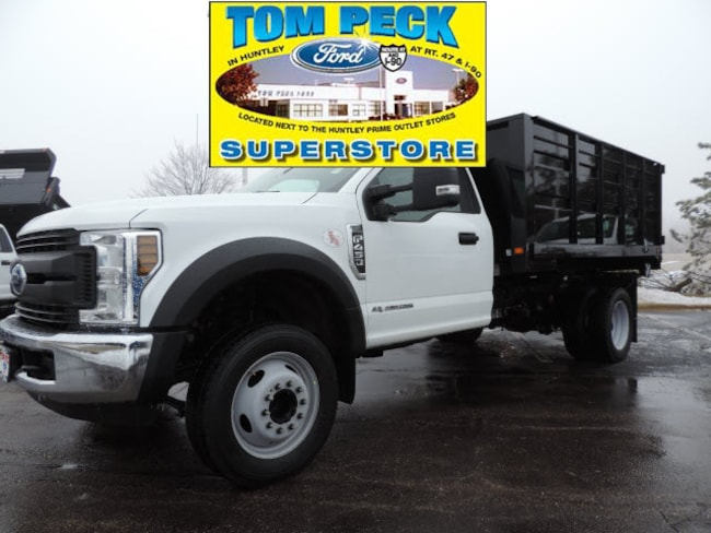 New 2019 Ford Super Duty F-450 DRW w/11Ft. Knapheide Landscape Dump Body Truck Regular Cab for sale/lease Huntley, IL