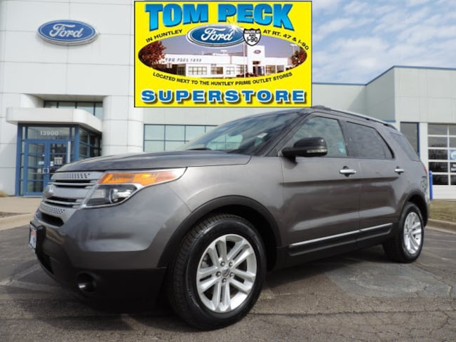 Used 2011 Ford Explorer XLT SUV 1FMHK7D83BGA75206 for sale in Huntley, IL