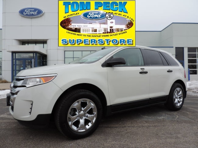 Used 2013 Ford Edge SE SUV for sale in Huntley, IL