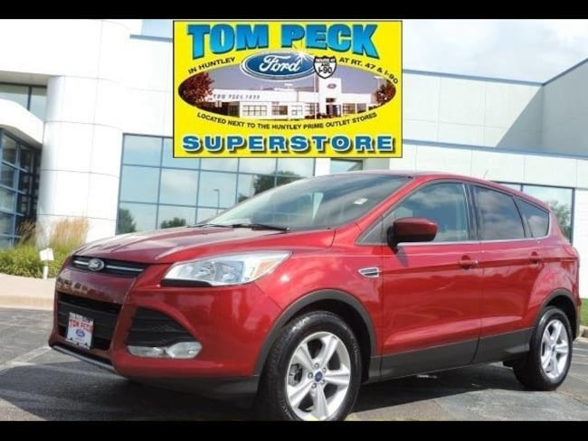 Certified pre-owned 2015 Ford Escape SE SUV in Huntley