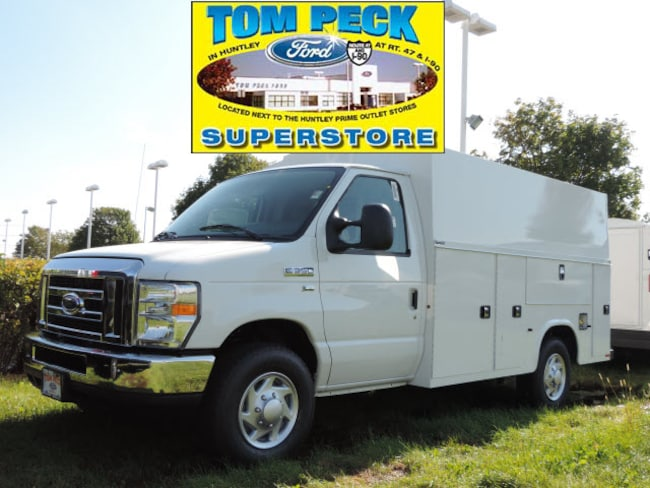 New 2019 Ford E-350 Cutaway w/Knapheide K.U.V. Mid Roof Service Body Truck for sale/lease Huntley, IL