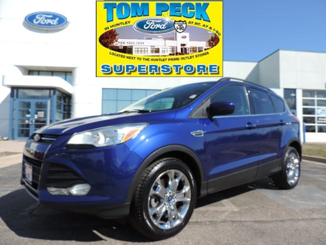 Certified pre-owned 2014 Ford Escape SE SUV 1FMCU9GX5EUB24463 in Huntley