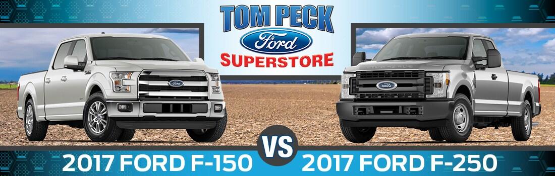 f150 vs f250
