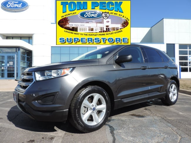 Certified pre-owned 2015 Ford Edge SE SUV 2FMTK4G88FBC12030 in Huntley