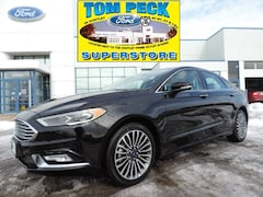Certified Pre-Owned 2018 Ford Fusion Titanium Sedan 3FA6P0D96JR233533 for sale in Huntley, IL