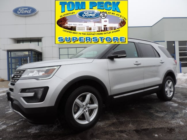 Used 2016 Ford Explorer XLT SUV 1FM5K8D83GGB26610 for sale in Huntley, IL
