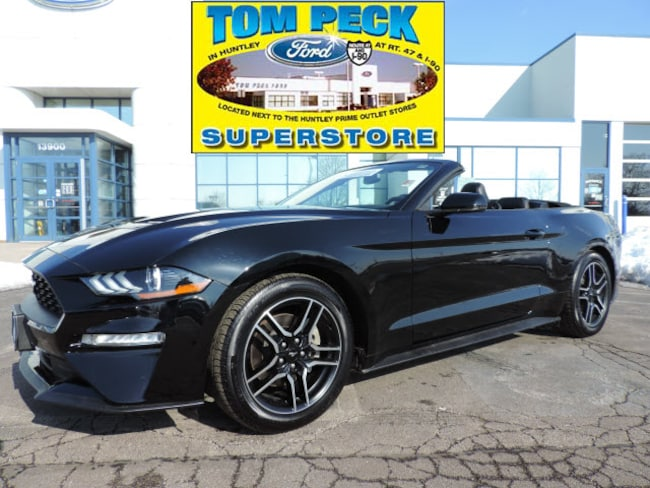 Certified pre-owned 2018 Ford Mustang Ecoboost Premium Convertible in Huntley