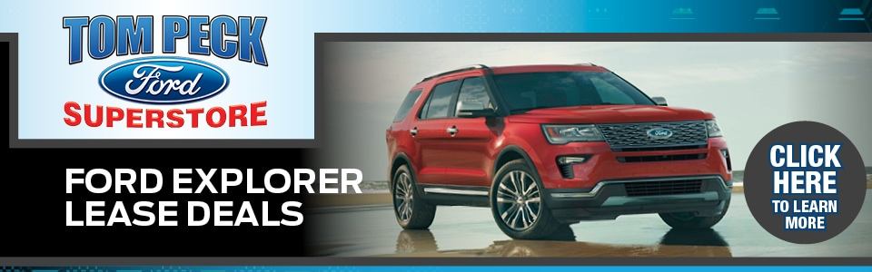 2019 Ford Explorer Lease Deals banner