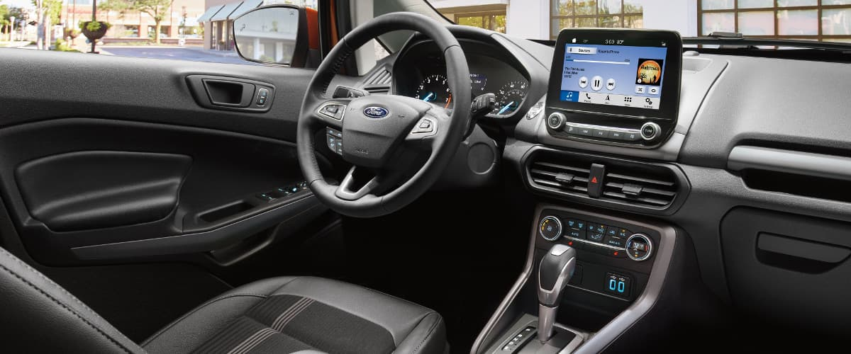 The interior of the 2019 Ford EcoSport