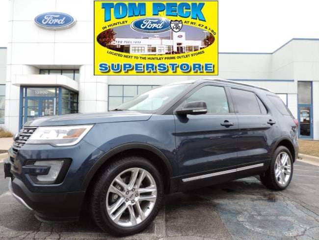 Certified pre-owned 2016 Ford Explorer XLT SUV in Huntley