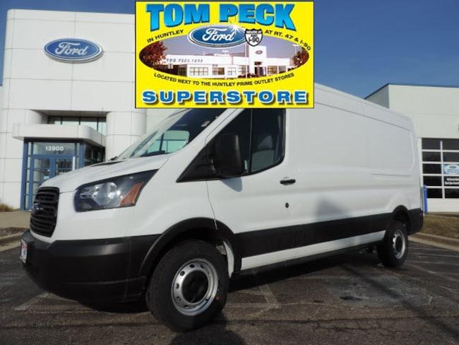 New 2019 Ford Transit Commercial Cargo Van Van Medium Roof Cargo Van for sale/lease Huntley, IL