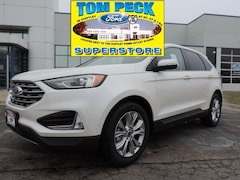 New 2019 Ford Edge Titanium SUV for sale in Huntley, IL