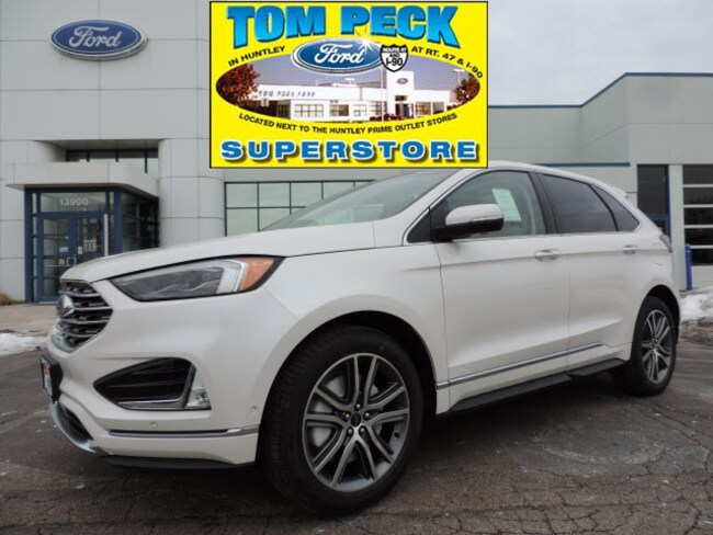 New 2019 Ford Edge Titanium SUV 2FMPK4K99KBB52383 for sale/lease Huntley, IL