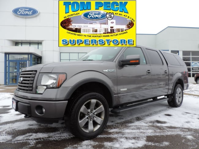 Used 2011 Ford F-150 FX4 Truck 1FTFW1ET5BFD25258 for sale in Huntley, IL