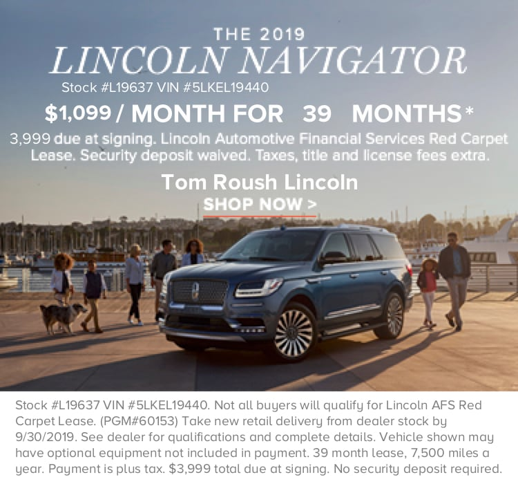 New Lincoln And Used Car Dealer Serving Fishers Tom Roush Lincoln