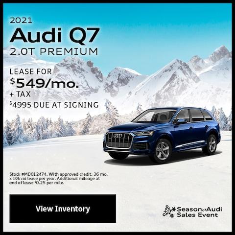 2021 Audi Q7 2.0T Premium